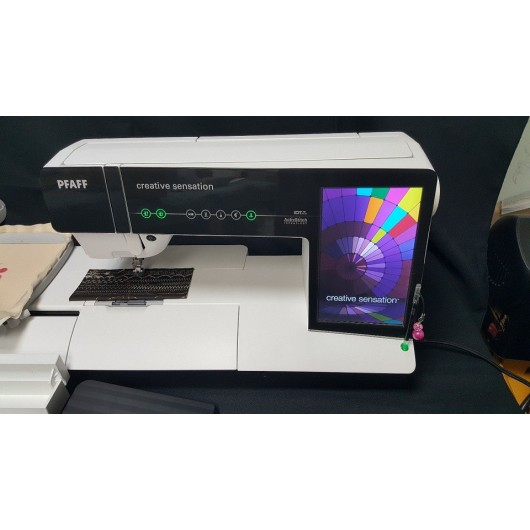 Pfaff Creative Sensation Sewing and Embroidery Machine