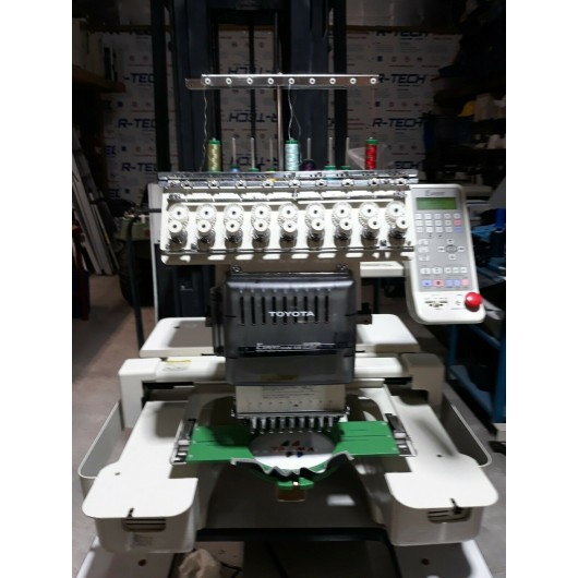 Toyota AD830 commercial embroidery machine