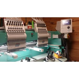 Tajima TFMX 1502 Embroidery Machine
