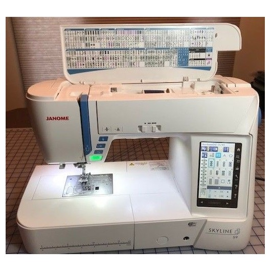 Janome Skyline S9 Embroidery Sewing Machine