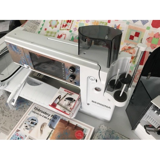 BERNINA 880 Sterling Edition Embroidery Sewing Machine